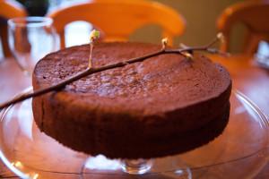 School_choc cake