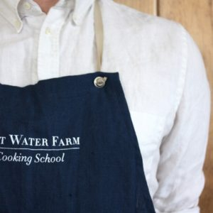 Salt Water Farm Linen Apron