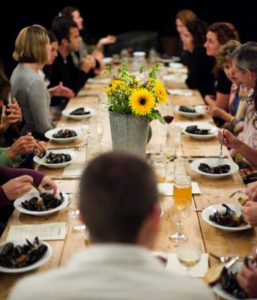 Full Moon Suppers - Salt Water Farm, Lincolnville Maine